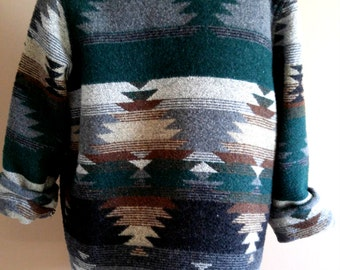 Southwestern Jacket/Blazer in Forest Colors