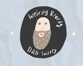 SALE: Beardy Dad card cc171