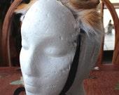 Fox ears headdress - real eco-friendly red fox fur ears costume for totemic ritual and dance