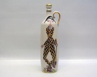 FOUND IN SPAIN -- Harlequin jar