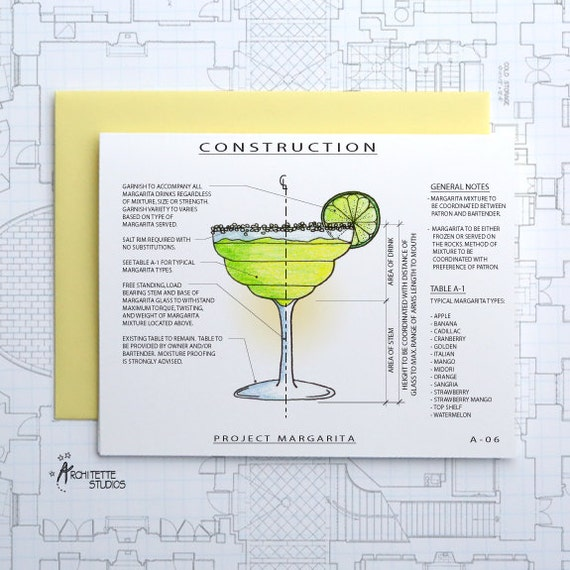Project Margarita - Blank Architecture Construction Card