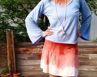 Hemp Wild Heart top (100% Hemp jersey)