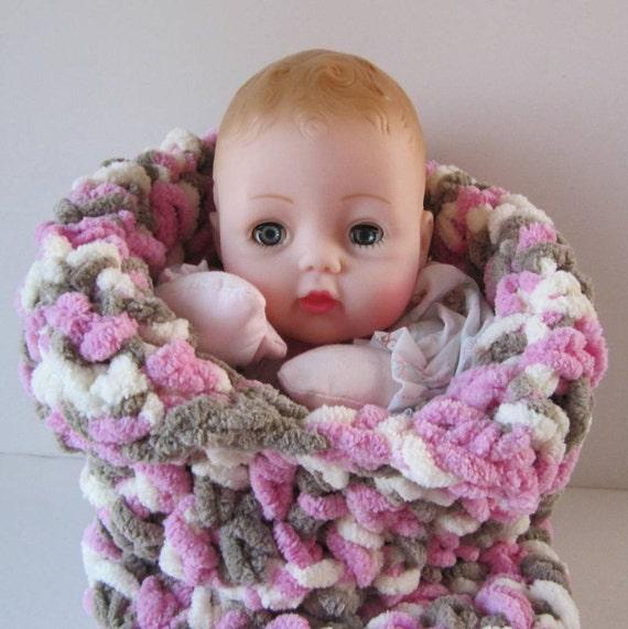 Huggums Bunting Baby Doll Sleeping Bag Cocoon Blanket