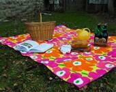 Picnic Blanket, Marimekko, Luxe Picnic Blanket (Ready to Ship)
