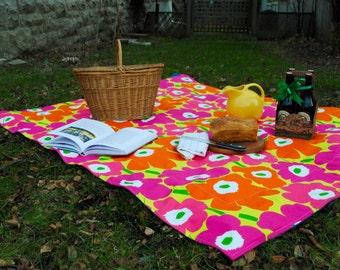 Picnic Blanket, Marimekko, Luxe Picnic Blanket