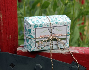 Herb & Basil Soy Wax Tart Melts   Eco-Friendly Packaging   HUGE 5.5 oz   Breakaway Wax Melts