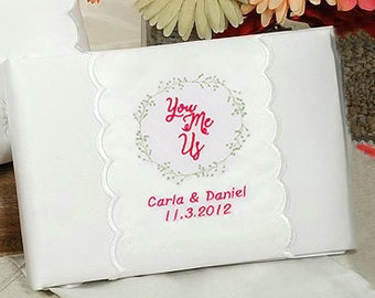 Personalized You, Me, Us Wedding Guestbook - 20208