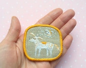 Textile Pet Brooch - Dog Dreams or Be my Valentine - Funny Dogs - collection, hand embroidered textile dog jewelry