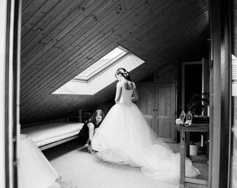 Vera Wang Bride Wars Inspired Wedding Gown