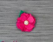 Elliana - Felt Carnations Clip Set (many colors available)