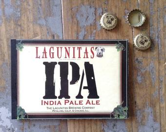 Lagunitas Recycled Beer Notebook
