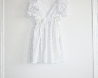 Vintage White Girl's Dress