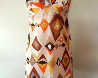 Vintage Emilio Pucci Slip / EPFR / Dress / Full Slip / Dress / 60s / 70s