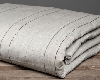 Linen Duvet Cover. Grey Queen Linen Bedding. Queen Size Duvet Cover, Queen Bed Sheets. King Size Bedding.  King Linen Duvet Cover