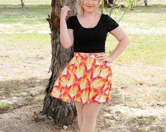 FIYAH Skater Skirt