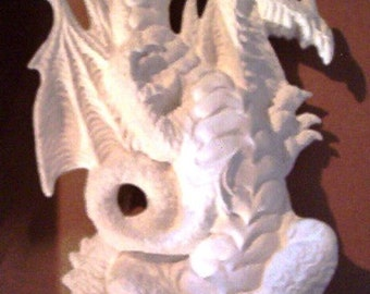 Standing Dragon Bisque Ready to paint Ceramic Piece