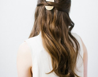 Rise and Set Barrettes -