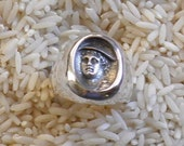Mercury, Hermes, Patron of Financial Gain, Commerce, Travellers, Poetry Ring