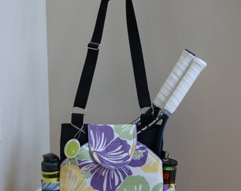 Little Sister Bag to Large Tennis bag with Rounded pockets.Made to order!
