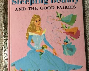 1958 A Little Golden Book Walt Disney's Sleeping Beauty And The Good Fairies