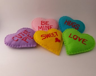 Valentine Hearts Plushies