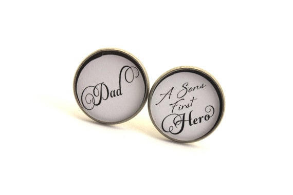 Mens Cufflinks, Father of the Groom Cufflinks, Father of the Groom Gift