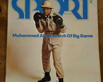 MUHAMMAD ALI SPORT Magazine Rumble in the Jungle 1974 can Ali beat Foreman