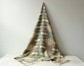 Vintage African Indigo Textile Blanket