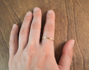 Stackable Ring - 14k Gold Fill