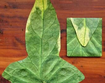 Tolkien Leaf Envelope - Inner Envelope