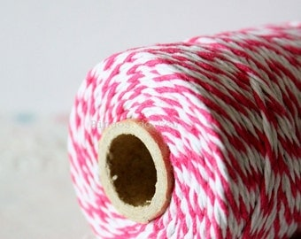 Baker's Twine, Hot Pink , 100 Yards, 100 meters. For your crafting projects. Ready to ship.