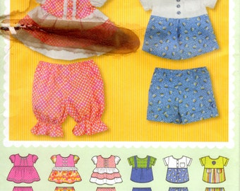 Baby Outfit Pattern - Sewing Pattern Simplicity 1889 - Size up to 24 lbs UNCUT FF