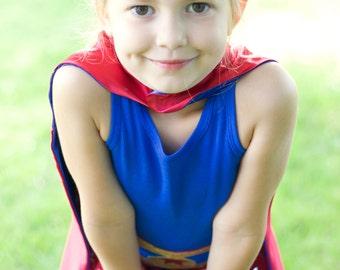 Girls Gold Sparkle Crown - Girls Superhero Accessories - Girl Superhero Party Favors - Stocking stuffer