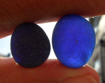 Beautiful Blues - Seaham English Sea Glass - Free Shipping (5110)