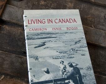 1958 CANADA Vintage Travel Journal