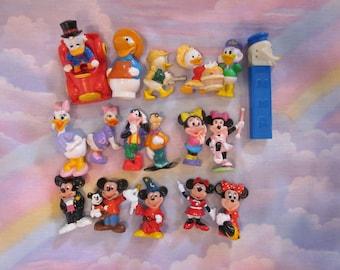 Disney Minnie Mickey Goofy Donald PVC Figures Lot