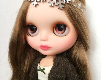 Snowflake Headband for Blythe
