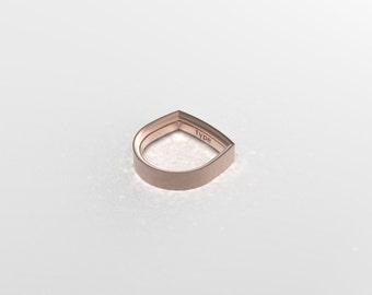 Rose Gold  Band  Wedding Ring