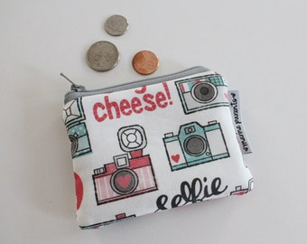 coin pouch -- camera happy instagram inspired
