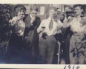 Girlfriends ENJOYING a BOTTLE of WINE Photo 1916