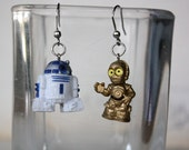 R2D2 and C3PO Stainless steel earrings