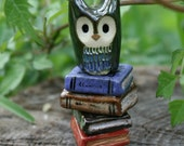 RESERVED Nox the Clay Owl: Harry Potter Owlery