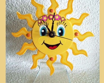 Sunshine Clock with attached stand #2