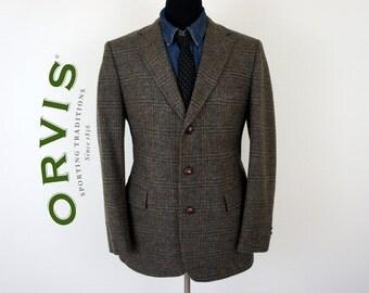 Vintage Orvis Wool Tweed Jacket - US/UK Size 39