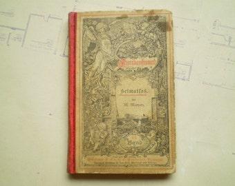 Heimatlos - 1880 - by M. Maryan - Book #44 - Familienfreund series - Antique German Book