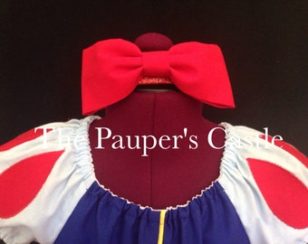 Disney Princess Snow White Red Bow Headband