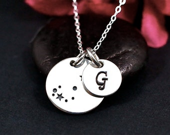 Scorpio Constellation Necklace Sterling Silver | Scorpio Jewelry | Scorpio Sign Necklace | Scorpio Zodiak Necklace | Scorpio Birthday Gift