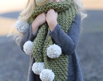 Knitting PATTERN-The Drift Scarf (Small, Medium, Large sizes)