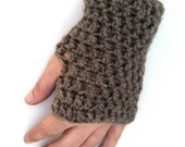 Fingerless Gloves - Graceful Grey - Grey, Gray, Fingerless Gloves, Wrist Warmer, Hand Warmer