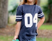 Toddler Jersey Shirt Football Baseball Sister Sports